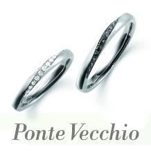 タカラ堂:【ポンテヴェキオ】ダイヤモンドとブラックダイヤモンドの特別な出会い