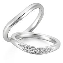 タカラ堂:【ロイヤル・アッシャー】優しい曲線を描く結婚指輪/WRA028・WRB038