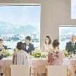 安心して参列してもらいたい!そんなお2人にぴったり!三密を避ける新しい結婚式の形をご紹介!!ご両親と一緒にぜひご見学ください。肉・魚を含む豪華7品のフルコース試食も好評!ぜひチェックを