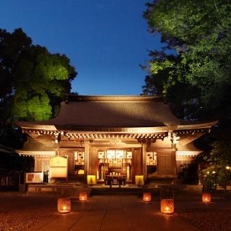 川越氷川神社・氷川会館:【残1席】重要文化財の神社でナイトウエディングはいかが?