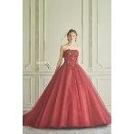 maruichi(マルイチ):『桂由美』のロマンティックなカラードレス