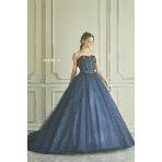 maruichi(マルイチ):『桂由美』深いブルーのカラードレス