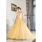 maruichi(マルイチ):鮮やかなイエローのカラードレス