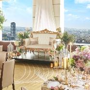 リーガロイヤルホテル小倉:【地上130mの最上階】北九州一望のスカイビューフェア