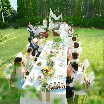 セントミッシェル ガーデンウェディング:【9月までがお得!】少人数☆豪華試食付おもてなし体験フェア♪