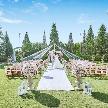 セントミッシェル ガーデンウェディング:【憧れの花嫁体験♪】ガーデンチャペル☆挙式体験×ドレス特典付