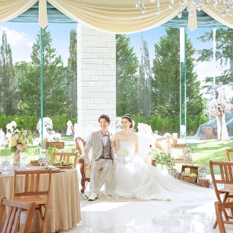 セントミッシェル ガーデンウェディング:衛生対策OK【2名~29名の食事会*家族婚】安心見積り相談会