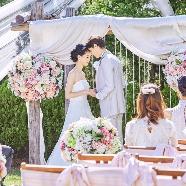 セントミッシェル ガーデンウェディング:【選べる★フォト婚】大聖堂&ガーデン*2人らしいスタイルが叶う
