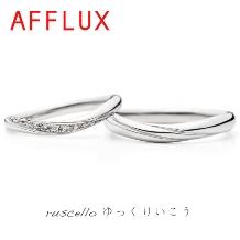 RAFFINE HIRATA(ラフィーネヒラタ)_側面までダイヤが廻り込む品のあるリング
