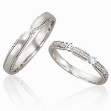 Jewelry Ito(ジュエリーイトウ)/ウィリアム・レニーダイヤモンドギャラリー_美しく強い女王を思い浮かべる指輪 アイビー(男性)&カトレア(女性)