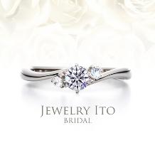 Jewelry Ito(ジュエリーイトウ)/ウィリアム・レニーダイヤモンドギャラリー_人気No.1!重ね付けにも大人気! Angel エンジェル