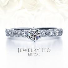 Jewelry Ito(ジュエリーイトウ)/ウィリアム・レニーダイヤモンドギャラリー_ダイヤモンドが美しい天使のリング Principality プリンシパリティ