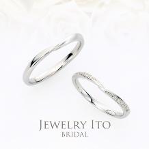 Jewelry Ito(ジュエリーイトウ):細身キュートなマリッジリング Temis テミス