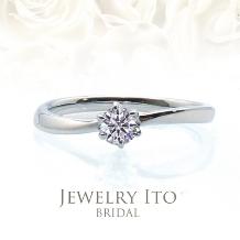 Jewelry Ito(ジュエリーイトウ)/ウィリアム・レニーダイヤモンドギャラリー_シンプルでキュートな細身リング! Raphael ラファエル
