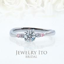 Jewelry Ito(ジュエリーイトウ)/ウィリアム・レニーダイヤモンドギャラリー_重ねて着けてもかわいい細身リング! Raguel ラグエル