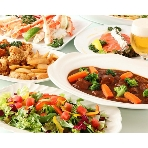 Alice Tokyo 日本橋:大皿料理のパーティープラン!二次会からのゲストも大満足のボリューム満点ビュッフェ!