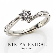 KIRIYA BRIDAL (宝石の桐屋)_こだわりのダイヤと手先をキレイに見せる桐屋オリジナルの神リング(FAVORI)