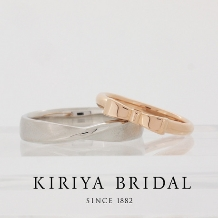 KIRIYA BRIDAL (宝石の桐屋)_大人かわいいシンプルリボンリング(桐屋オリジナルフルオーダー)