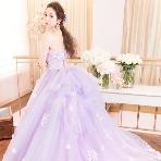 Wedding Costume HIROTA●HIROTAグループ:■THE HANY■フェリシー ラベンダーカラーで大人可愛い一着