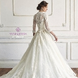 Wedding Costume HIROTA●HIROTAグループ:バックスタイルも印象的★王道Aラインの桂由美ウエディングドレス