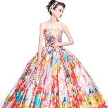 Wedding Costume HIROTA●HIROTAグループ:ひとめぼれする花嫁続出!蜷川実花のカラードレス♪