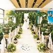 THE VILLAS 福岡(ザ ヴィラズ):【選べる2つのチャペル】緑溢れる貸切邸宅*見学ツアー/試食付