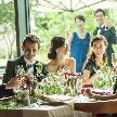 THE VILLAS 福岡(ザ ヴィラズ):【40名以下◇特典付】絶品コース試食♪挙式&写真&会食Wフェア