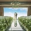 GRANADA SUITE 福岡(グラナダ スィート):【憧れの花嫁体験♪】天空チャペルで感動の挙式体験&コース試食