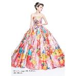 カラードレス、パーティドレス:ブライダルコスチューム みつもと