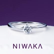PARIS(ジュエリーパリ ブライダル)_【NIWAKA】『花雪(はなゆき)』天からの贈りもの 君の薬指にひとつ