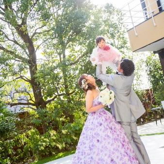 THE WEDDING RESTAURANT JURER(ウエディングレストラン ジュレ):【おめでた婚&パパママキッズ婚】家族一緒に素敵な想い出を
