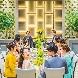 GLOBAL WEDDING DIADE(グローバル ウエディング ディアーデ):【 式場選びに迷ったら】ゲスト満足ポイントで見学と無料試食
