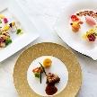 ウェスティンホテル大阪:【華やかな料理のこだわった一皿】デザート試食×ドレス試着体験