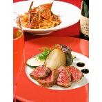 AOI cafe:季節の食材を取り入れたボリューム満点のお料理は、ゲストの皆様も大満足間違いなし!