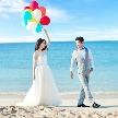 シー シェル ブルー(小さな結婚式):【表参道店】【期間限定】沖縄フォトウエディングキャンペーン♪