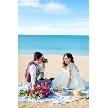 シー シェル ブルー(小さな結婚式):【大宮店】【期間限定】沖縄フォトウエディングキャンペーン