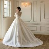 Cinderella & Co.:【Cinderella&Co】美しい光沢ミカドサテンのドレスAN0121