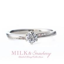 Gemmeo MyM(ジェンメオミィム):スタッフ一押し!さりげなく指元で輝くピンクダイヤモンドに想いを込めて