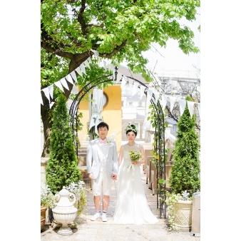 ヒルサイドガーデン・山手フランス山教会:☆先着一組のみ☆ウェディング装飾見学×無料プレート料理試食