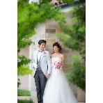 ロケーション撮影、前撮:WEDDING GARDEN アンジュール