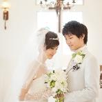 スタジオ撮影、前撮:WEDDING GARDEN アンジュール
