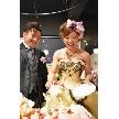 ダイニングスペース WEDDING HALL 名駅店:ケーキカットの後は特製大型スプーンによるファーストバイトです♪
