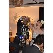 ダイニングスペース WEDDING HALL 名駅店:メインのキャンドルグラスで新郎、新婦様ご入場です♪