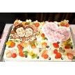 ダイニングスペース WEDDING HALL 名駅店:世界のひとつしかない似顔絵のウェディングケーキ☆一生の思い出に◎