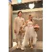 ダイニングスペース WEDDING HALL 名駅店:入場にはシャボン玉の演出が無料にて♪