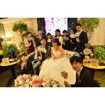 ダイニングスペース WEDDING HALL 名駅店:高砂ソファーでナチュラル二次会を演出下さい!