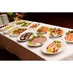 M&H plata:お料理は勿論、デザートも豊富です!