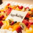 UNICO 西梅田:ウェディングケーキがついたプランが人気!