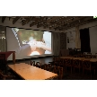 UNICO 西梅田:特大スクリーン完備!式や披露宴の様子などの上映が人気です*