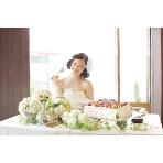 DINING&BAR Sofa(ソファー):手作りウエディングケーキと幸せ一杯新婦様!!